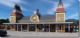 North Conway Scenic Railroad Station